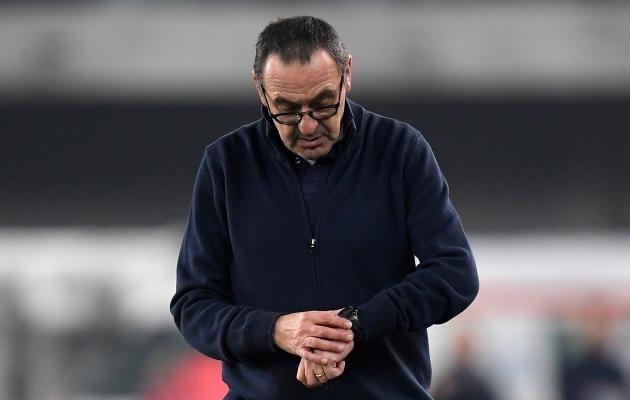 Maurizio Sarri. Foto: Scanpix / Alberto Lingria / Reuters