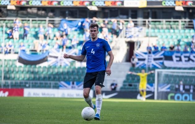 Varem Inglismaal, Šotimaal ja Sloveenias mänginud Mattias Käit paneb end proovile karjääri neljandas välisklubis. Foto: Brit Maria Tael