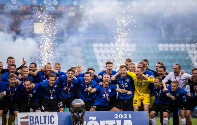 Eesti koondis on Balti turniiri võitja. Foto: Brit Maria Tael