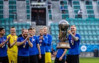 Spordimuuseumis avatakse jalgpalliteemaline näitus, peagi näeb seal ka lõpuks Eestisse naasnud Balti karikat