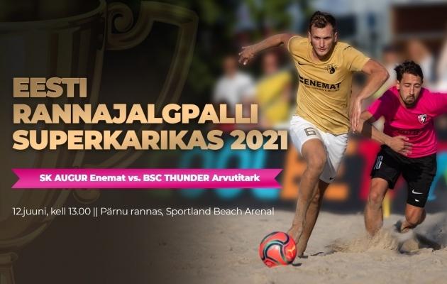 VAATA JÄRELE: Augur võitis 14-väravalise superkarikafinaali