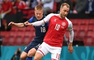 Taani jalgpalliliit: Eriksen suhtles täna hommikul meeskonnakaaslastega ja tema seisund on stabiilne