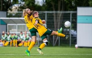 Naised päästsid Leedu jalgpalli au