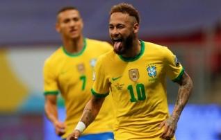 Brasiilia skooris Copa America teises mängus veel rohkem kui esimeses