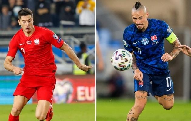 LIVE: Lewandowski ja Poola või Hamšik ja Slovakkia?