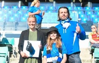 Jalgpalligeeniuse tiitli pälvis Katrin Loo