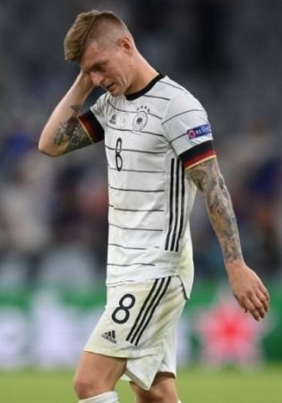 Saksamaa poolkaitsja Toni Kroos. Foto: Scanpix / Reuters/ Matthias Hangst