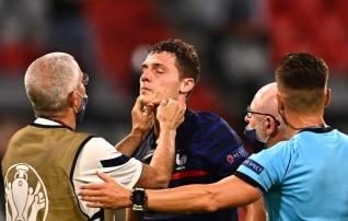 Prantsusmaa kaitsjal löödi 15 sekundiks pilt taskusse, Pogba ei nõua teda hammustanud Rüdigerile karistust