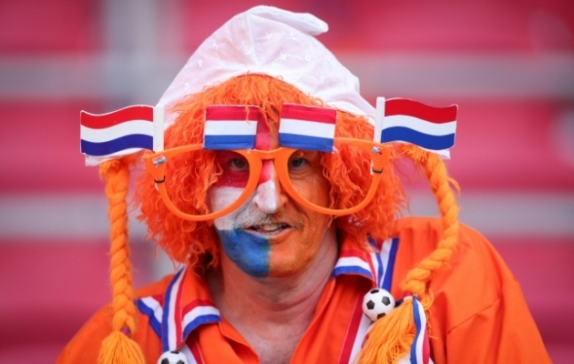 Hollandi jalgpallikoondise fänn. Foto: Scanpix / imago images / Xinhua