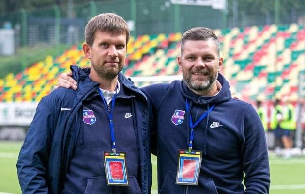 Jaanus Pruuli (vasakul) ja Veiko Veskimäe. Foto: Real de Banjuli Twitter