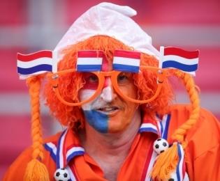 Hollandi koondise fänn. Foto: Scanpix / imago-images / Xinhua