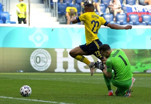 Nii sündis penalti. Foto: Scanpix / EPA / Dmitry Lovetsky / POOL