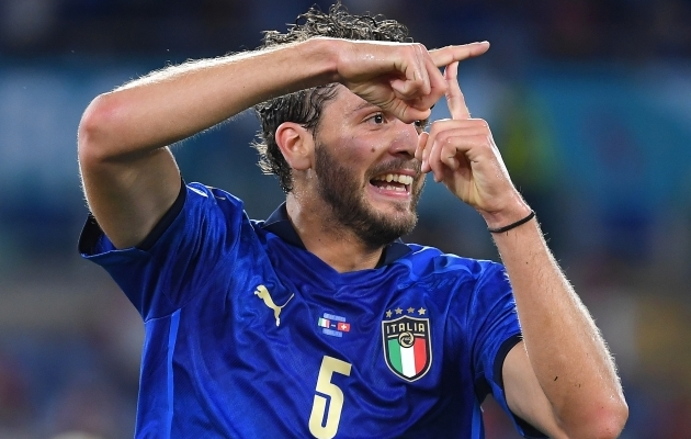 Itaallaste Manuel Locatelli on fenomenaalses hoos. Foto: Scanpix / EPA / Ettore Ferrari