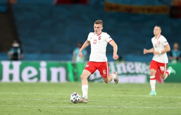 EM-i noorim mängumees Kacper Kozlowski. Foto: Scanpix / Piotr Kuzca / ZUMA Press