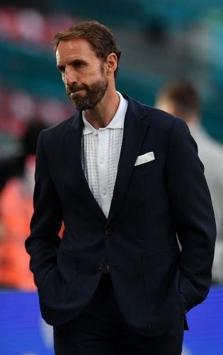 Inglismaa koondise peatreener Gareth Southgate. Foto: Scanpix / AFP / Justin Tallis