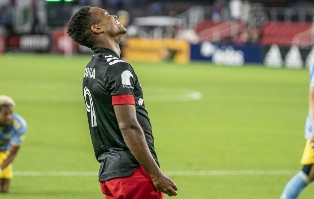 D.C. Unitedi ründaja Ola Kamara. Foto: Scanpix / Tony Quinn / Icon SMI / ZUMA Press