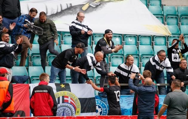Hibernians võitis neli aastat tagasi FCI Tallinnat. Foto: Oliver Tsupsman