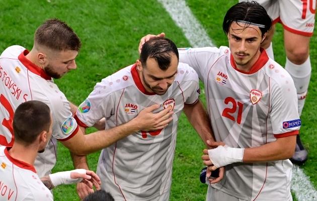 Goran Pandev jättis koondisega ja koondis temaga väärikalt hüvasti. Foto: Scanpix / AFP / Olaf Kraak