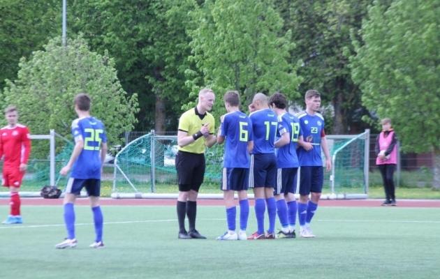 Ida-Virumaa Alliance mängus Harju JK Laagriga. Foto: FC Järve Facebook