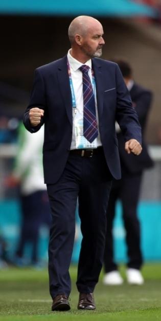 Šotimaa koondise peatreener Steve Clarke. Foto: Scanpix / Reuters / Lee Smith