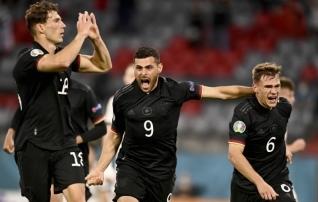 Saksamaa pääses Ungari haardest läbi häda ja mängib nüüd Inglismaaga  (Ronaldo-Benzema 2:2)