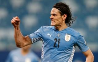 Cavani ja Uruguay tagasid edasipääsu  (Paraguay võitis Tšiilit!)