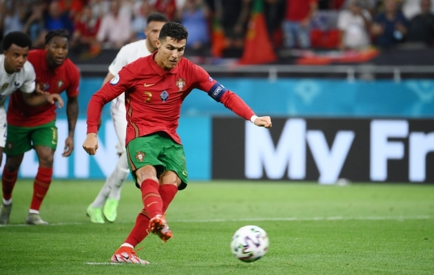 Cristiano Ronaldo viiest väravast kolm on sündinud penaltipunktilt. Foto: Scanpix 7 Reuters / Franck FIfe
