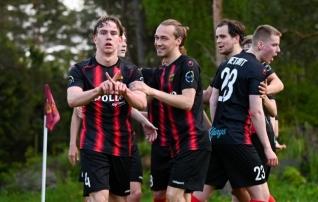 Esindusmeeskonnast abiväge kaasanud Levadia U21 alistas napilt PJK  (United võitis Welcot)