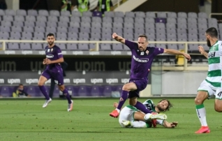 Franck Ribery aeg Fiorentinas sai läbi