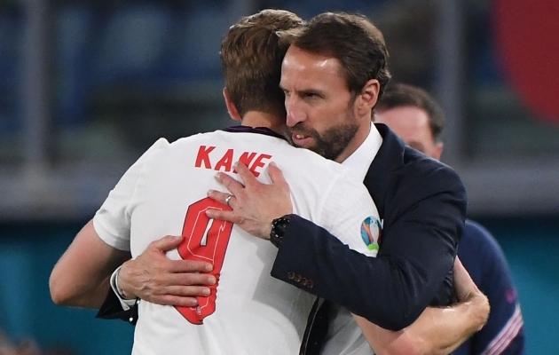 Talisman, kellesse tasub uskuda: Gareth Southgate usaldab Harry Kane'i väravavaistu. Foto: Scanpix / AFP / Pool / Alberto Lingria