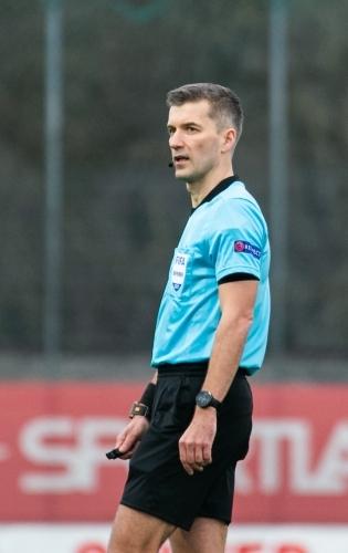Jalgpallikohtunik Kristo Tohver. Foto: Brit Maria Tael