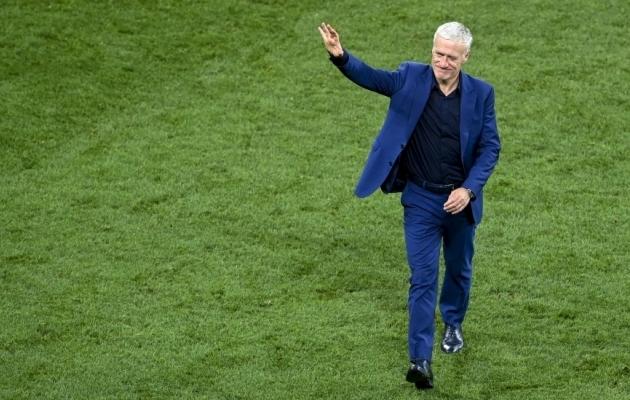 Didier Deschampsi ametiaeg jätkub. Foto: Scanpix / Daniel Mihailescu / AP