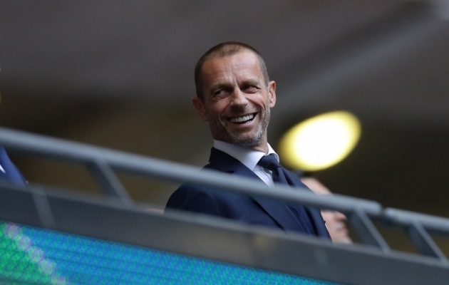 UEFA president Aleksander Ceferin. Foto: Scanpix / David Klein / Zumapress