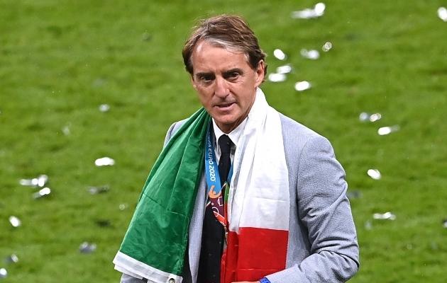 Euroopa meister Mancini: ma ei mõtle enam klubijalgpallist