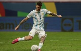 Atletico soetas Udinesest Argentina koondislase