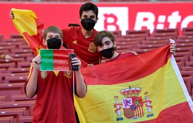 2030. aasta MM-ile kandideerivad üheskoos ka Hispaania ja Portugal. Foto: Scanpix / AFP / Javier Soriano