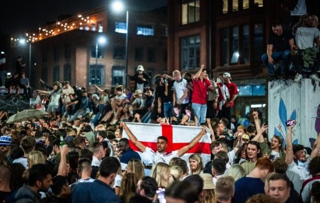 Inglismaa koondise toetajad. Pilt on illustreeriv. Foto: Scanpix / Joel Goodman / Zumapress