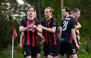 Nõmme United mängis kaheväravalise eduseisu kaotuseks  (Maardu sai suure võidu)