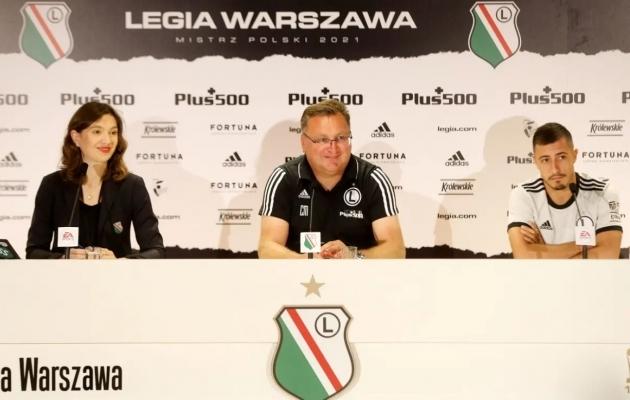 Foto: Varssavi Legia kodulehekülg legia.com