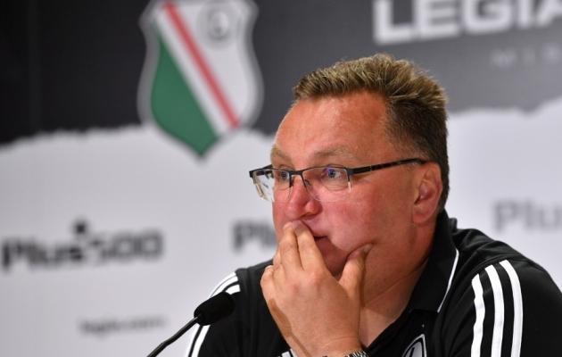 Varssavi Legia peatreener Czeslaw Michniewicz. Foto: Scanpix / Radek Pietruszka / EPA