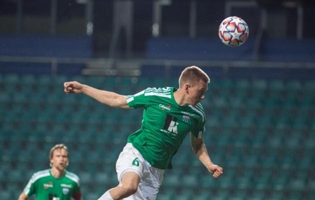 Rasmus Peetson. Foto: Jana Pipar / jalgpall.ee