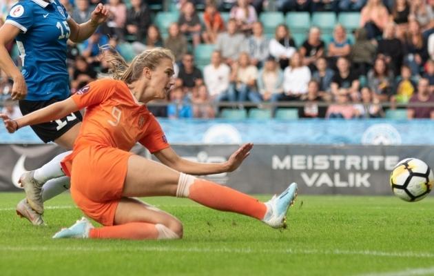 Vivianne Miedema. Foto: Liisi Troska / jalgpall.ee