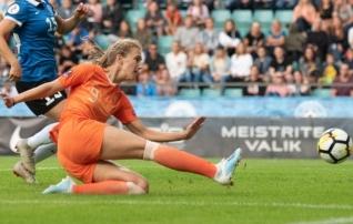 Naiste olümpiaturniir jätkub väravarohkelt: Miedemal ja Bandal kahe vooruga kuus tabamust