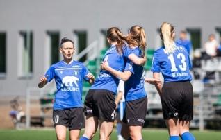 Kalevi naiskond ladus Ajaxile 14 väravat