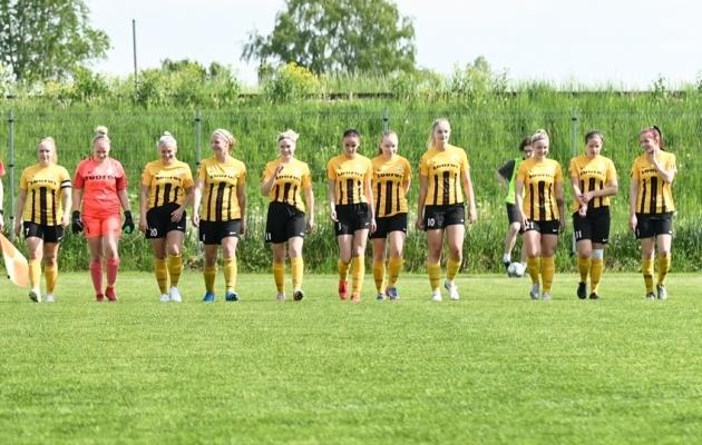 Põlva Lootose naiskond. Foto: Liisi Troska / jalgpall.ee