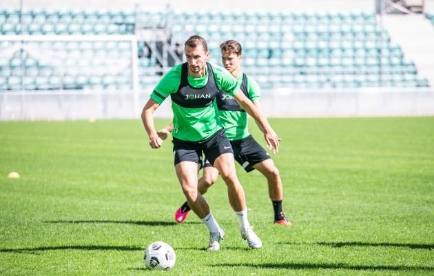 FC Flora ründaja Sten Reinkort. Foto: Brit Maria Tael
