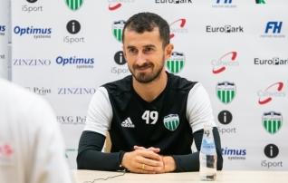 Euromängudes ilu teinud Beglarišvili: ma naudin iga mängu, selles meeskonnas on see lihtne