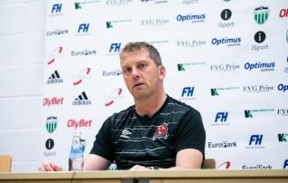 Dundalki peatreener pärast magusat võitu: üks löök otsustas mängu