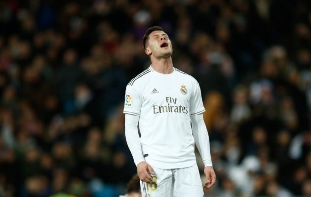 Luka Jovicil ei ole Real Madridis lihtne olnud. Foto: Scanpix / Oscar J. Barroso / AFP