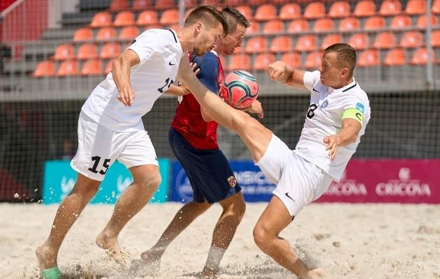 Eesti rannakoondis kohtub tänases poolfinaalis Kasahstaniga
